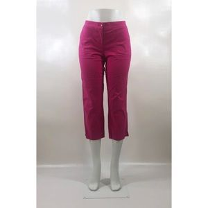 Tommy Bahama Size 4 Cropped Pink Pants